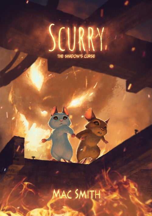 Image of Scurry Book 3: The Shadow's Curse (Hardcover) PLUS Full Series Slipcase (Now Crowdfunding)