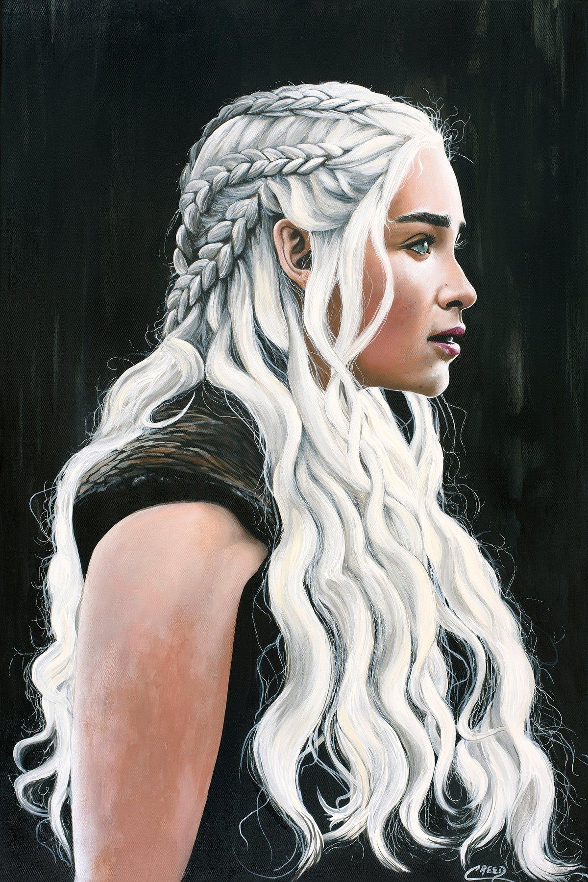 Image of Game of Thrones ~ Daenarey Targaryen (aka) Mother of Dragons