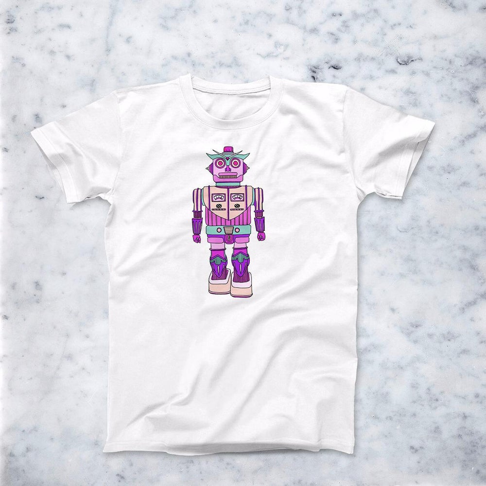 Image of T-Shirt Robot Rosa