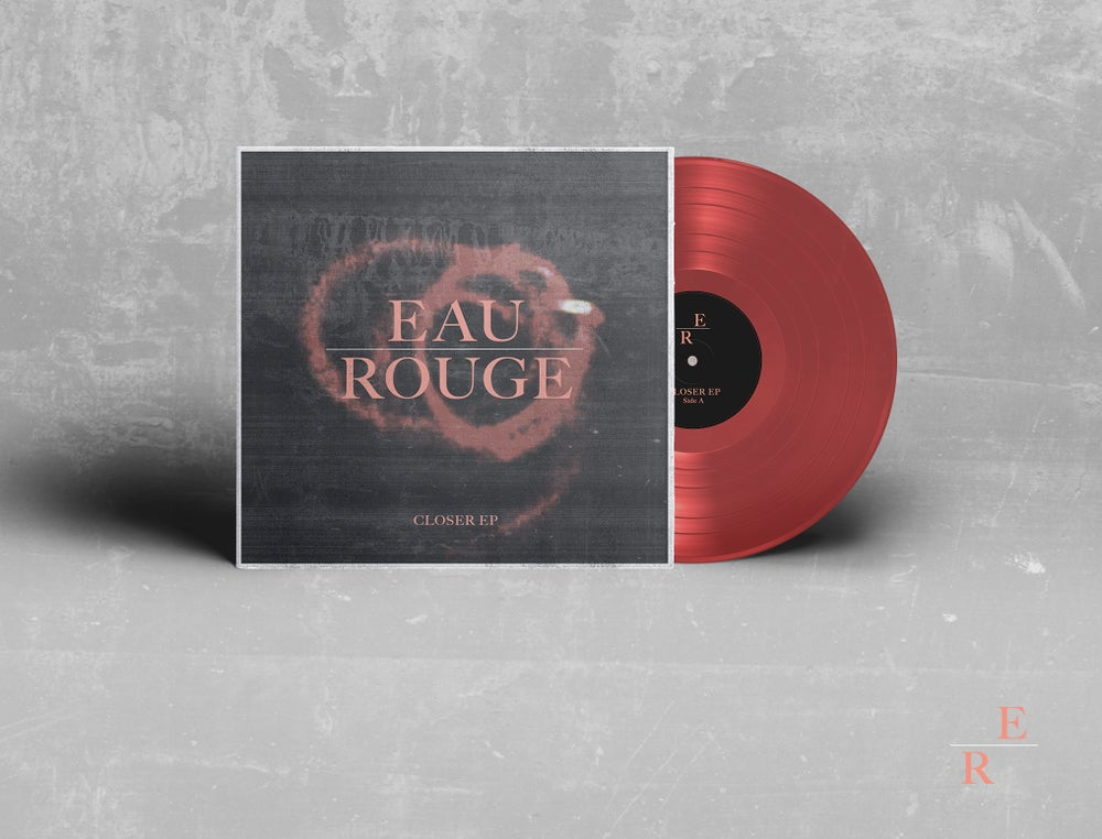 Image of Closer EP red vinyl (limited edition)