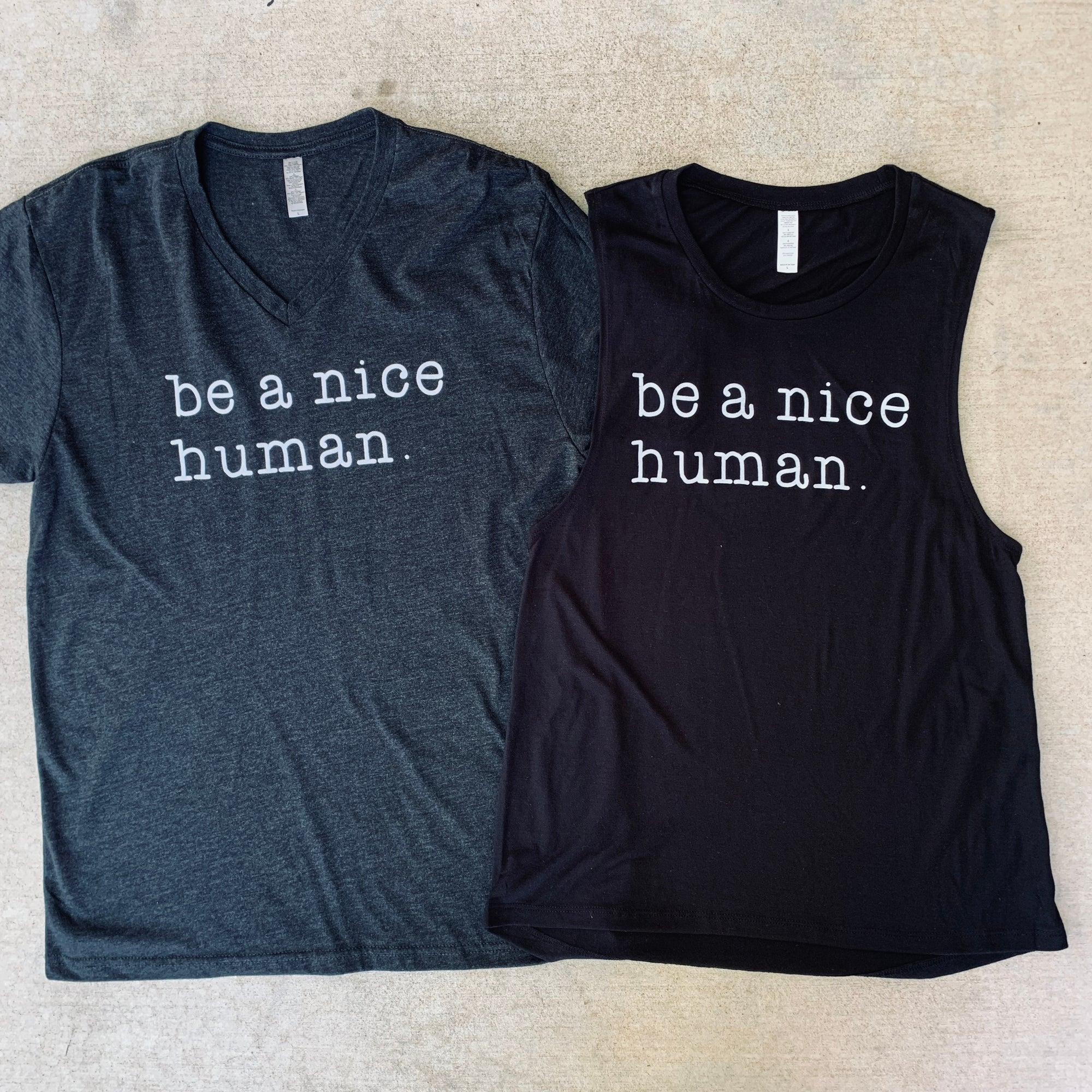 Image of Be a nice human