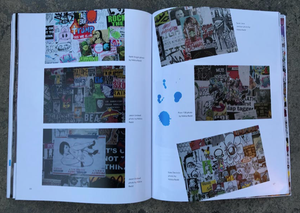 "Image of TRADE PAPERBACK ""SMASHED: The Art of the Sticker Combo"" Street Art Sticker Book by iwillnot"