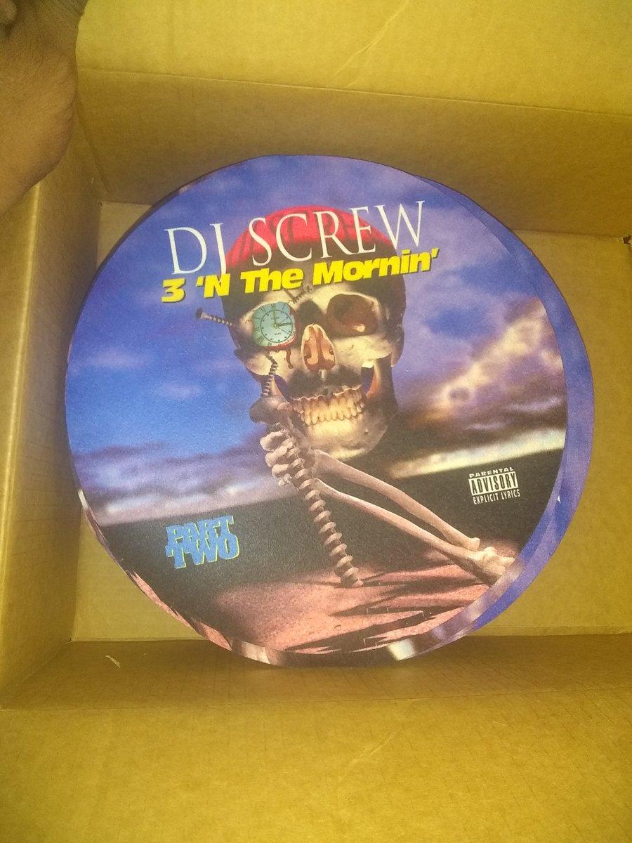 Image of DJ SCREW 3 N MORN SLIP MATS 2 PC SET