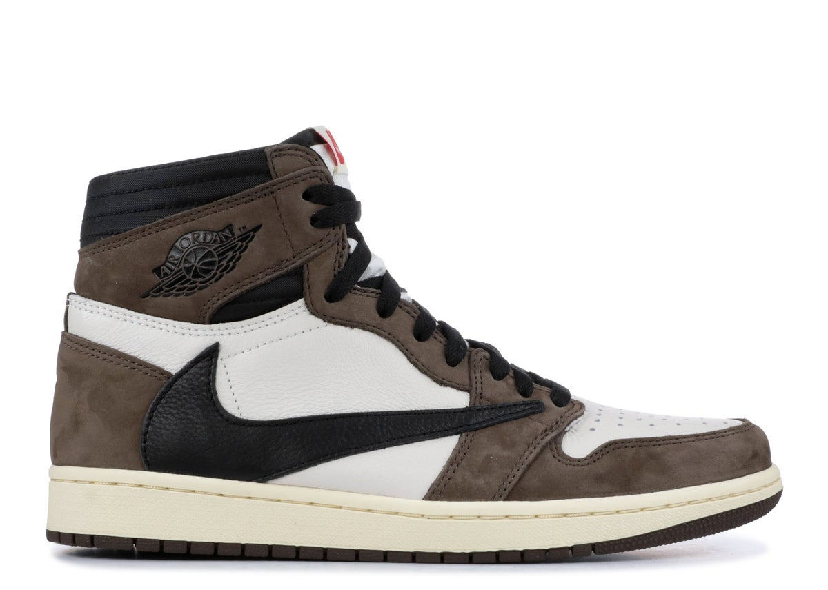 "Image of AIR JORDAN AIR JORDAN 1 HIGH OG TS SP ""TRAVIS SCOTT"
