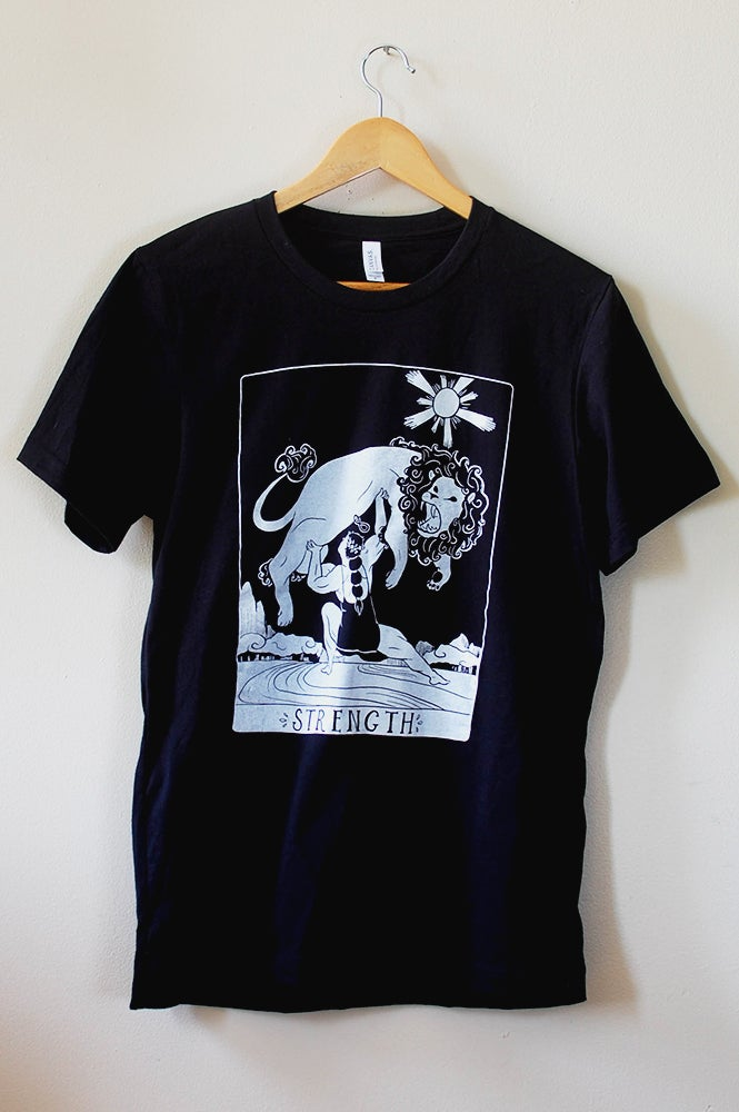 Image of Strength Tarot Shirt