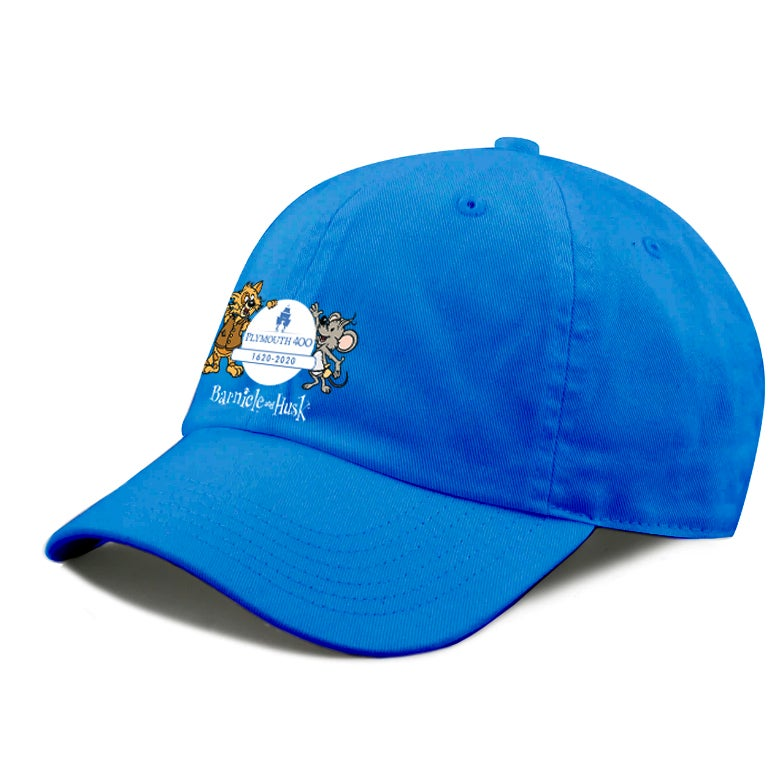 Image of Blue Plymouth 400 Baseball Cap