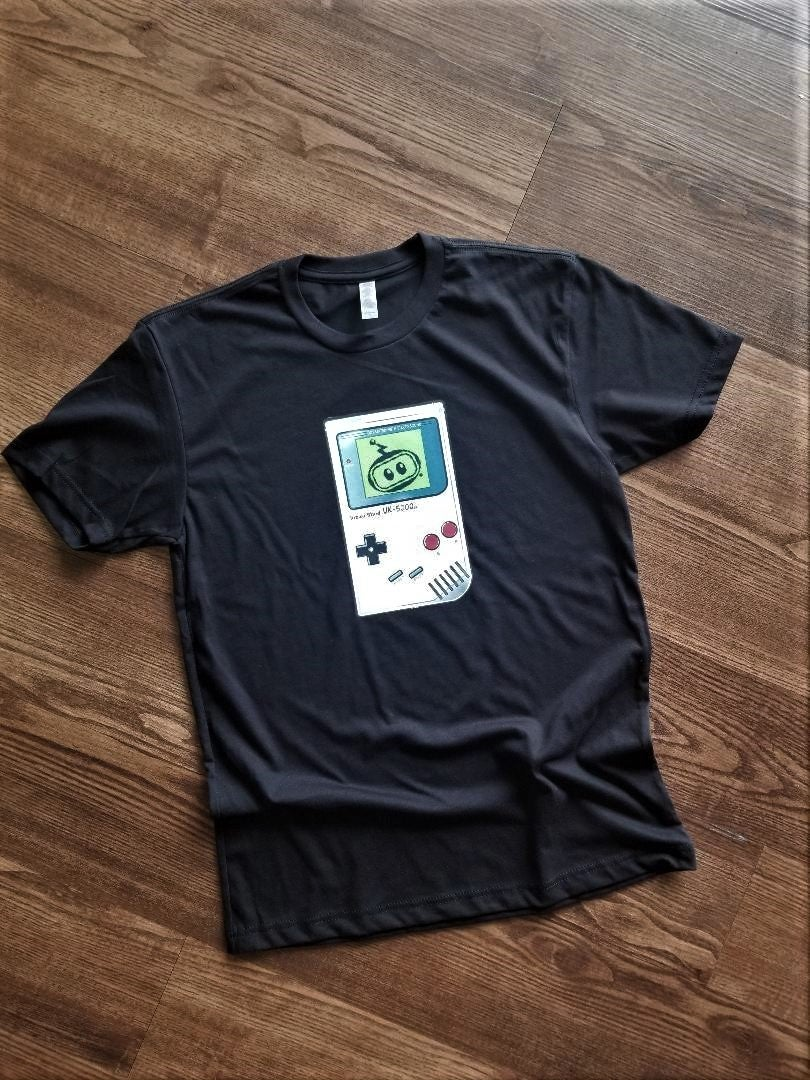 Image of Inzzo's Shed Unique Knits Gameboy Logo Tee