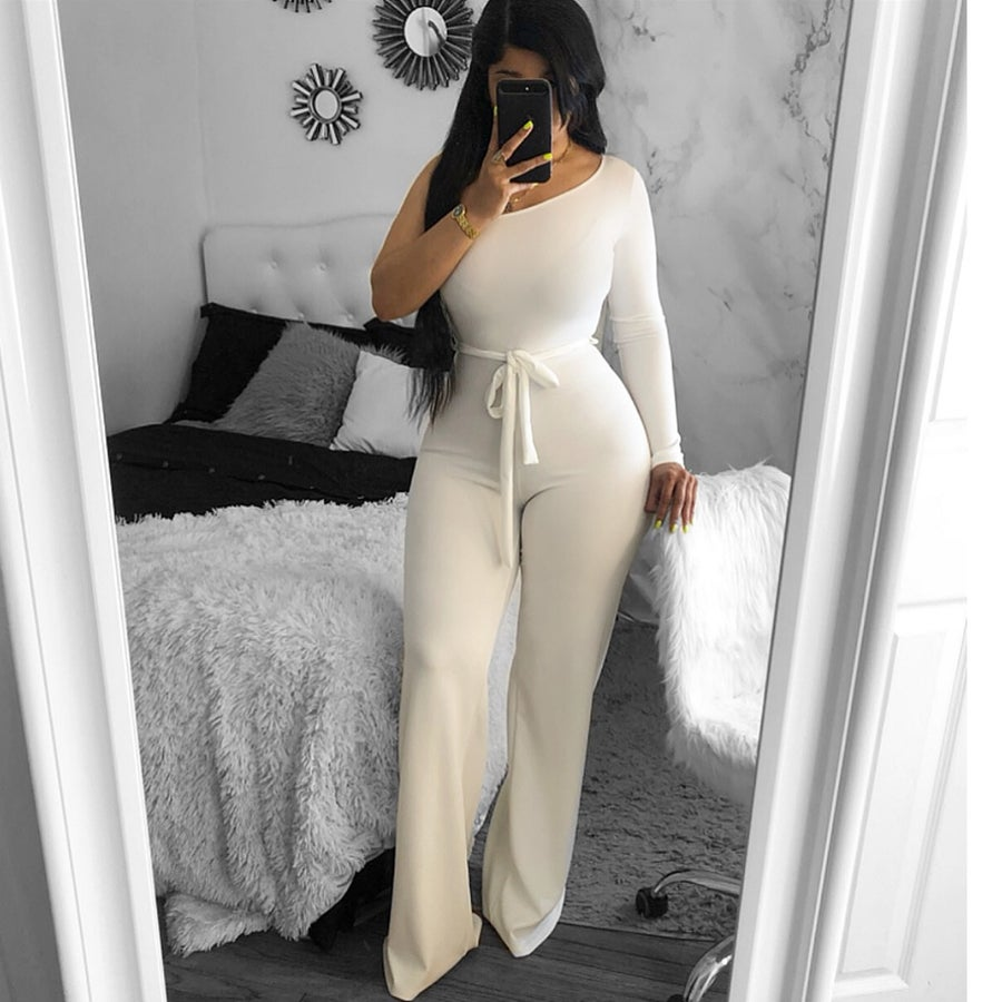 Image of One sided jumpsuit