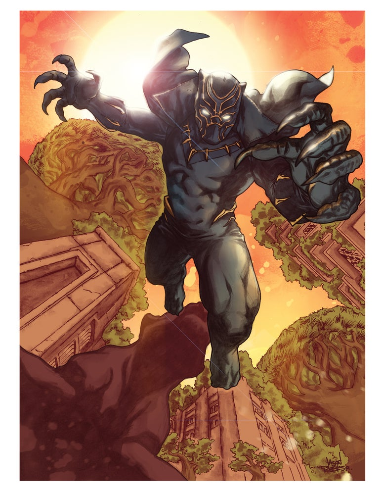 Image of Black Panther no.2 (Poster/Print)