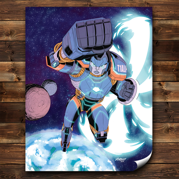 Image of Tyler1 Mecha Poster