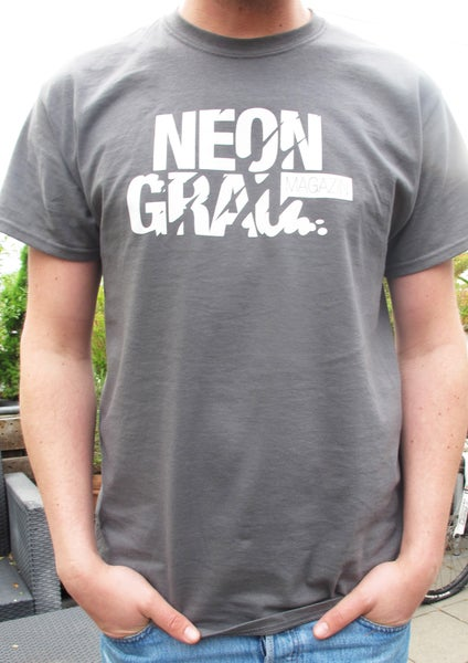 Image of NEONGRAU Shirt Gray/White