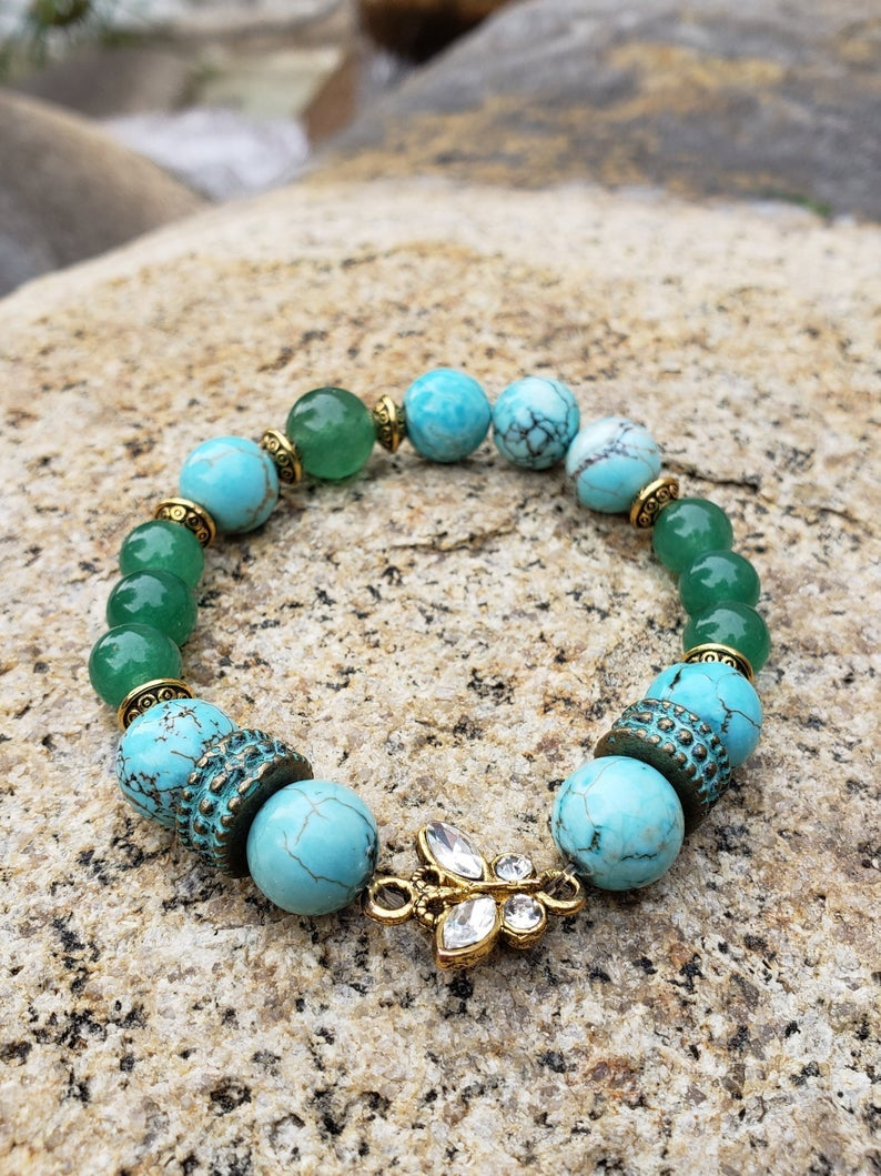 Image of Good Fortune Butterfly Bracelet | Wealth | Good Luck | Prosperity