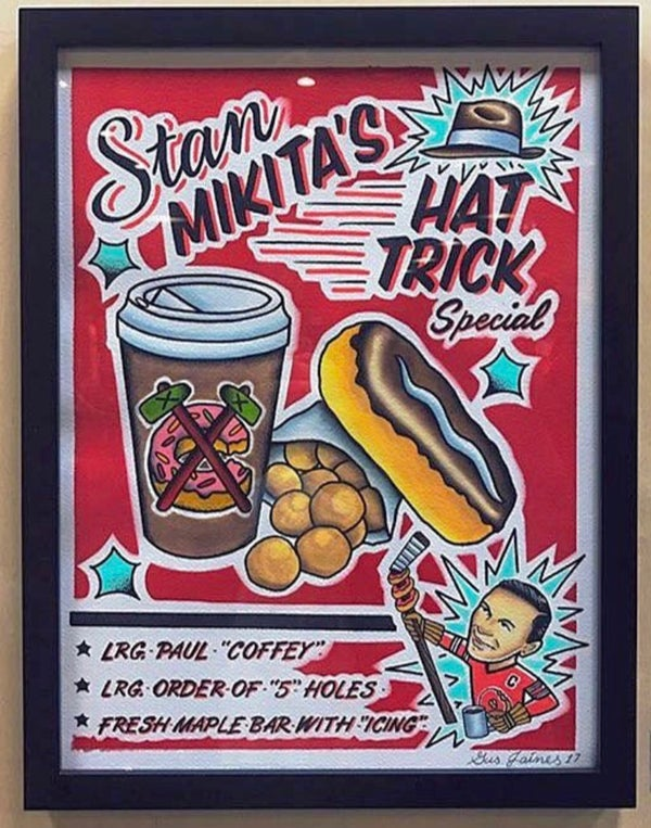 "Image of ""HAT TRICK"" Special! 8.5x11 inches"