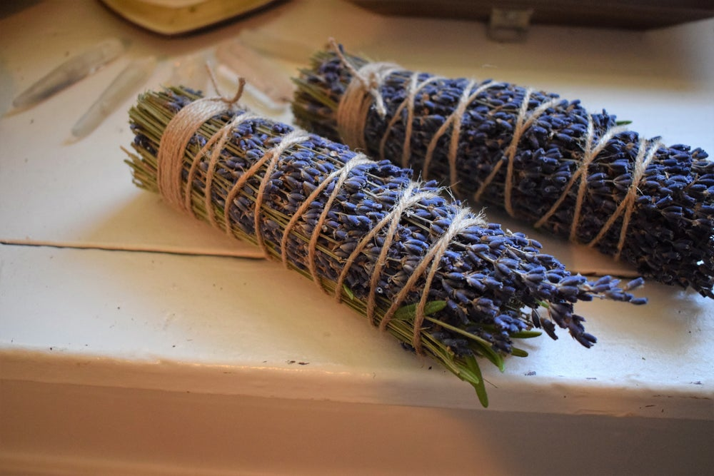 Image of Peace Smoke Wands | rosemary & lavender