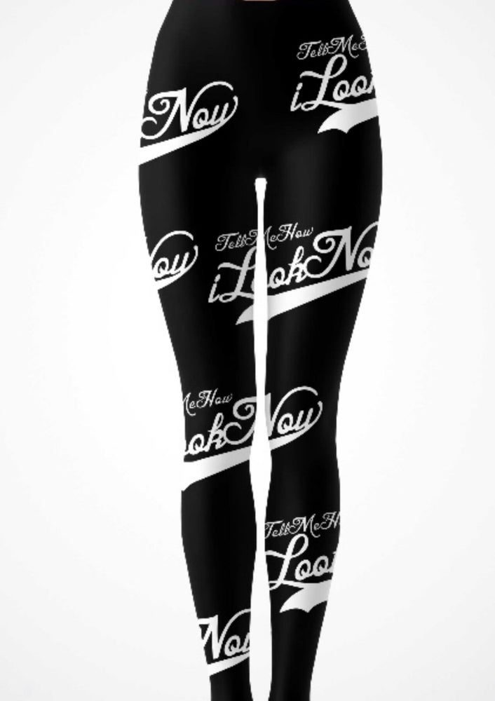 Image of Black/ White Leggings