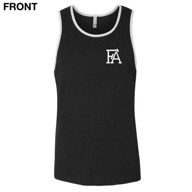 "Image of ""Help People"" Black Tank"