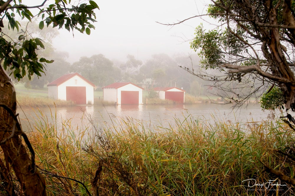 Image of Anglesea Boat Sheds, Anglesea River