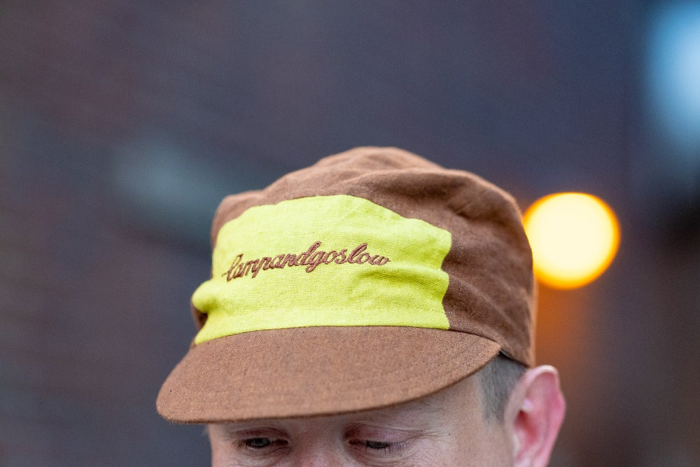 Image of Camp And Go Slow 5 Panel Lightweight Cap.