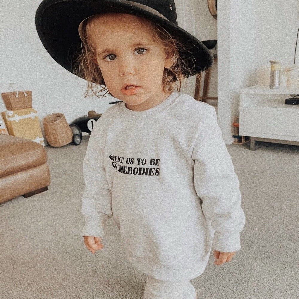 Image of Teach Us Toddler + Childrens Sweatshirt