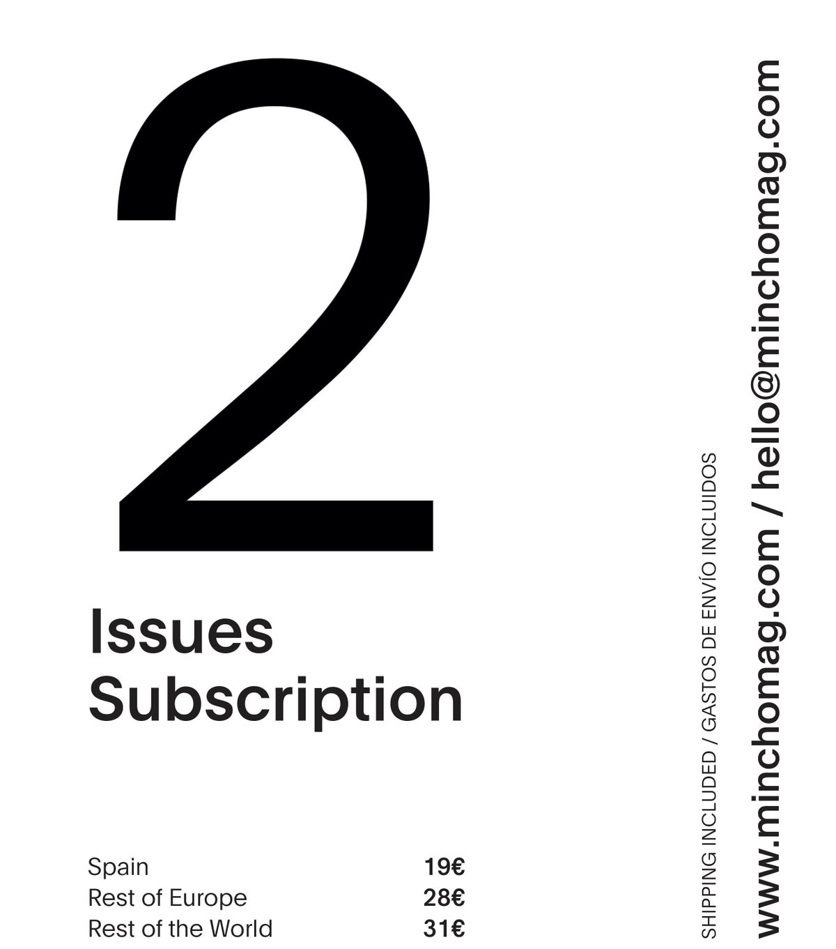 Image of ANNUAL SUBSCRIPTION