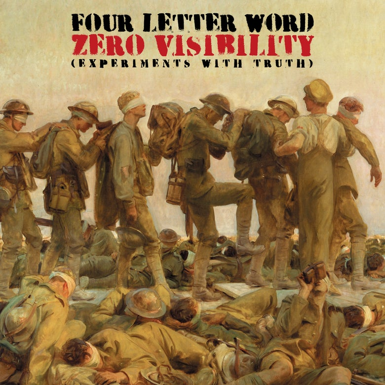 Image of FOUR LETTER WORD - ZERO VISIBILITY (EXPERIMENTS WITH TRUTH) - 20TH ANNIVERSARY VINYL LP EDITION