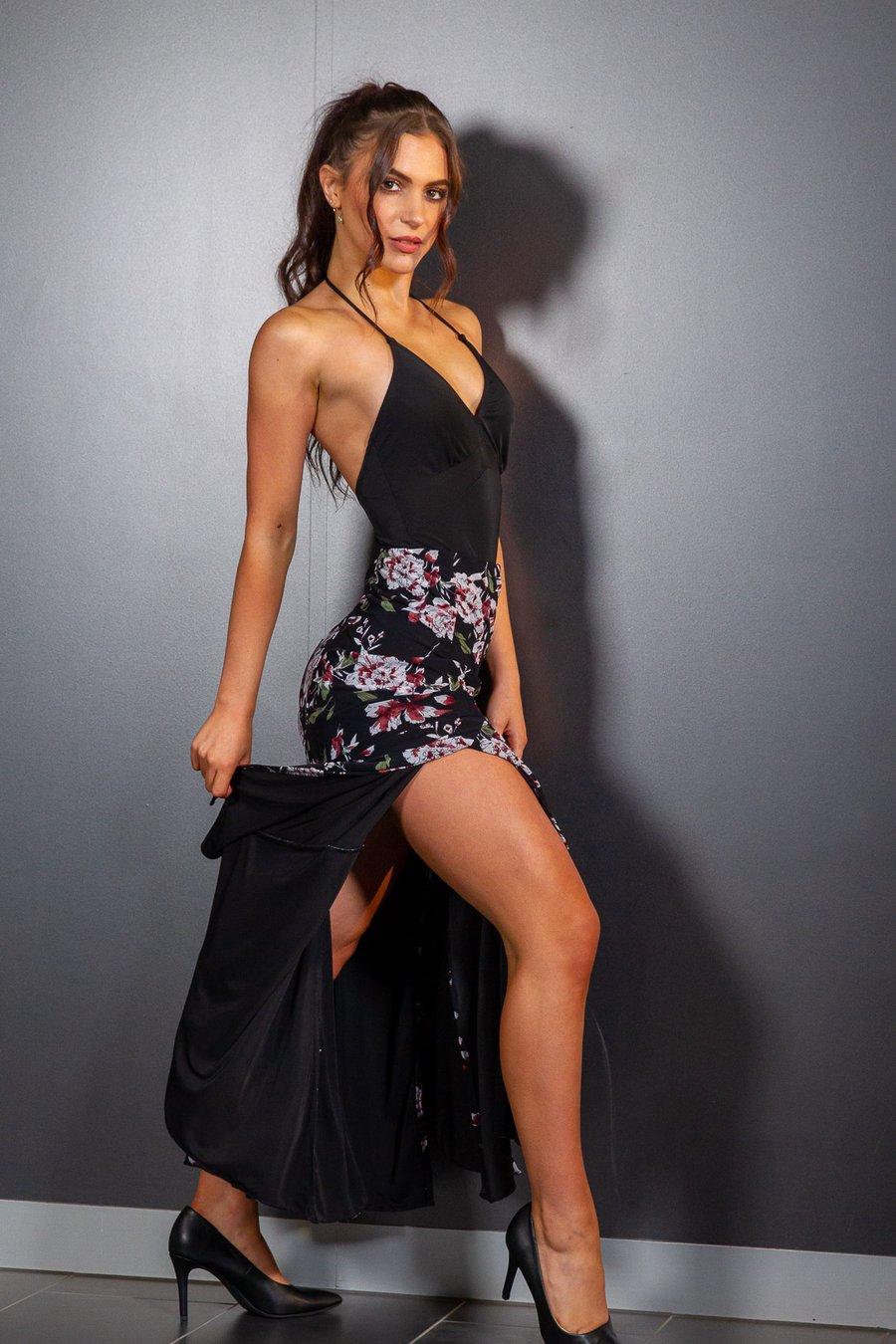 Image of Classic Body BLACK (H3211) Dancewear latin ballroom