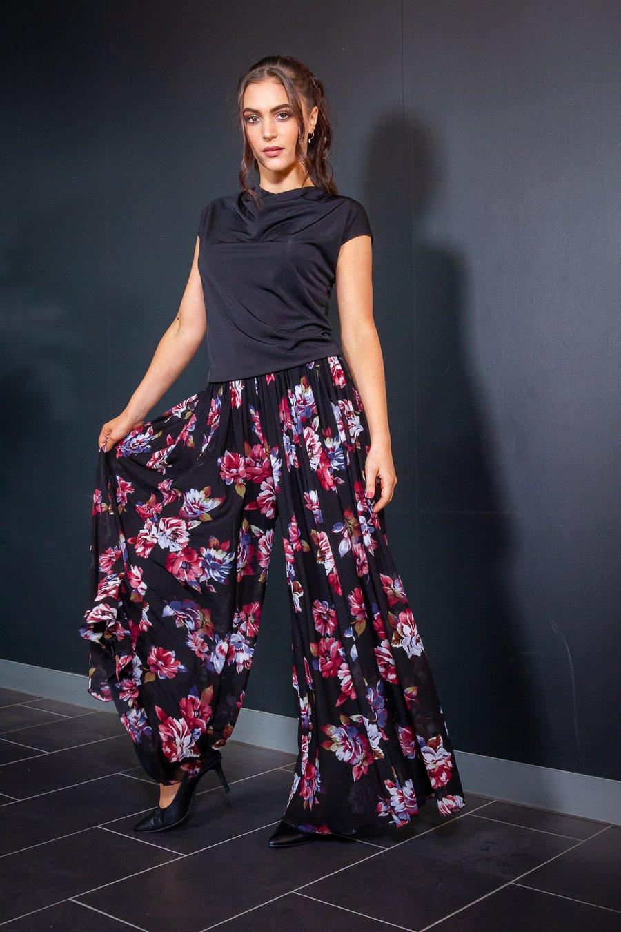 Image of Envy Pants (B7173A) Camellia Dancewear latin ballroom