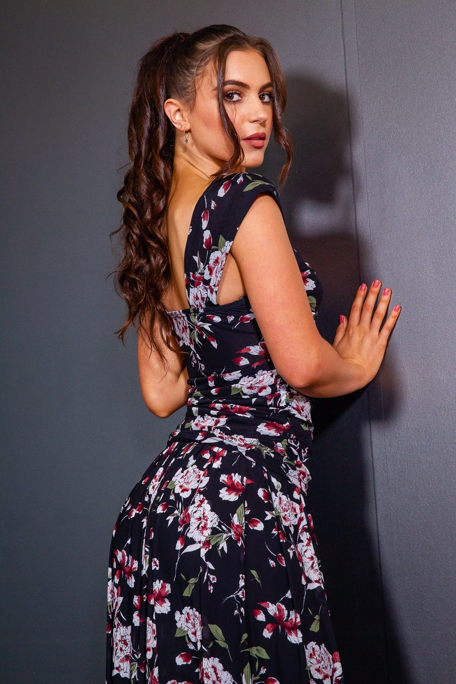 Image of CrissCross Top (E5977A) Alcea Dancewear latin ballroom
