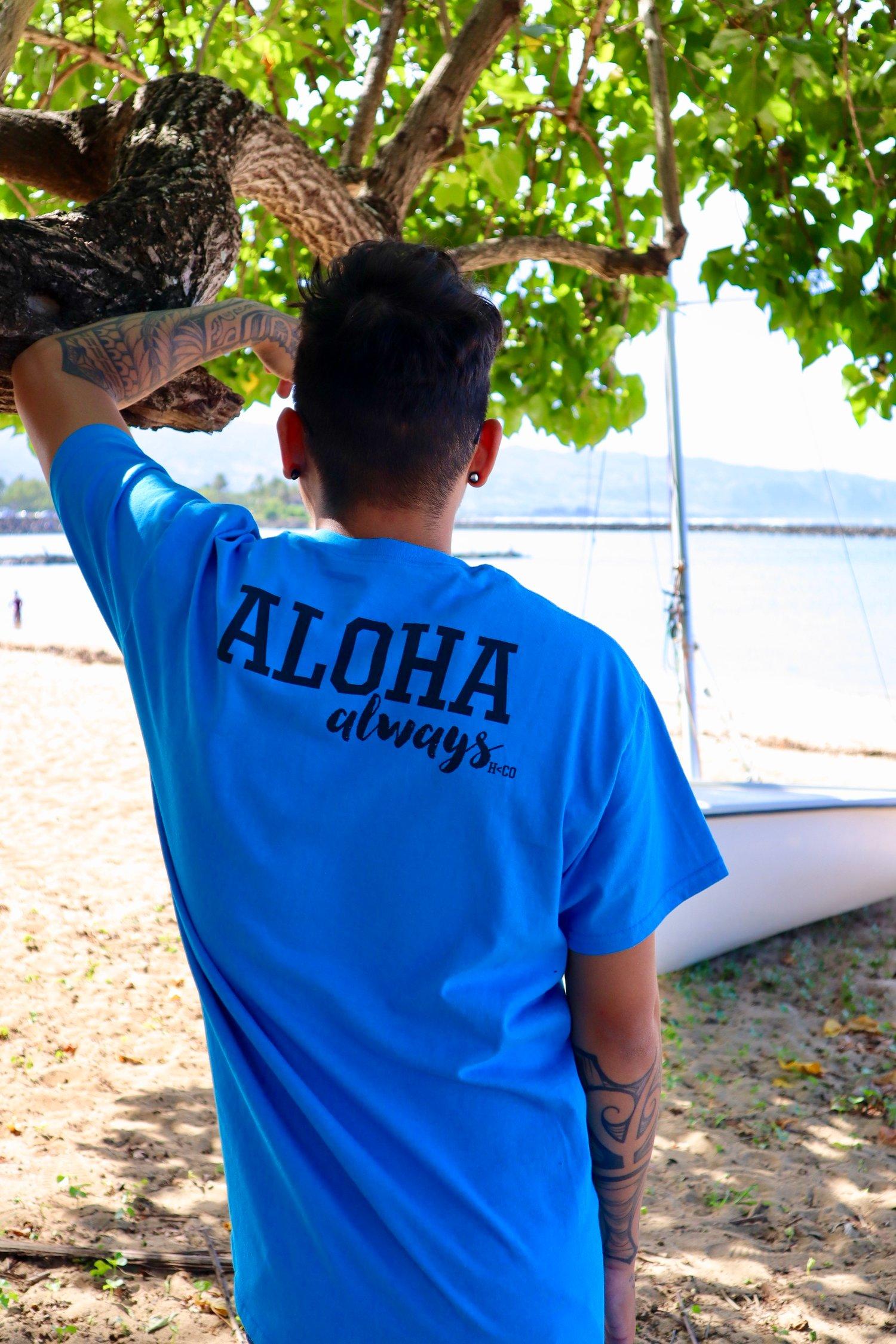 Image of Never Give Up/Aloha Always