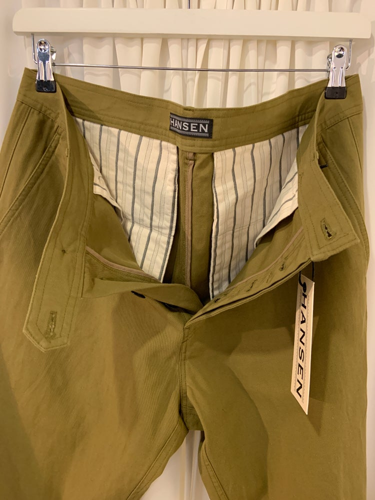 Image of HANSEN's FRED regular fit trouser