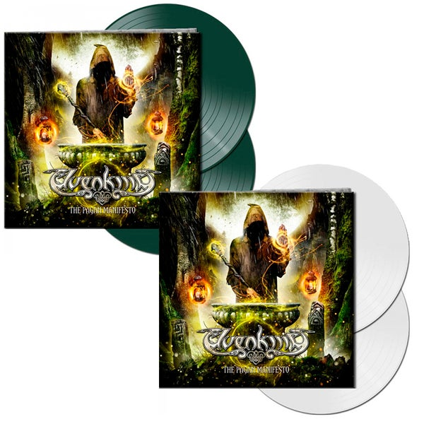 Image of THE PAGAN MANIFESTO -LIMITED EDITION White or Green 2-Vinyl