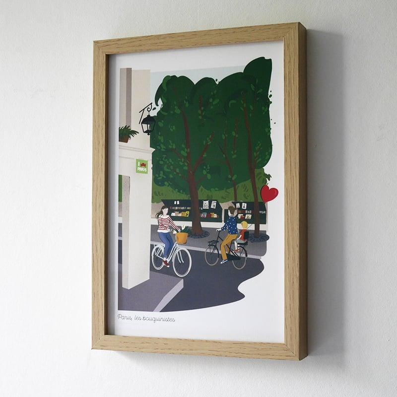 Image of Affiche : les balades parisiennes