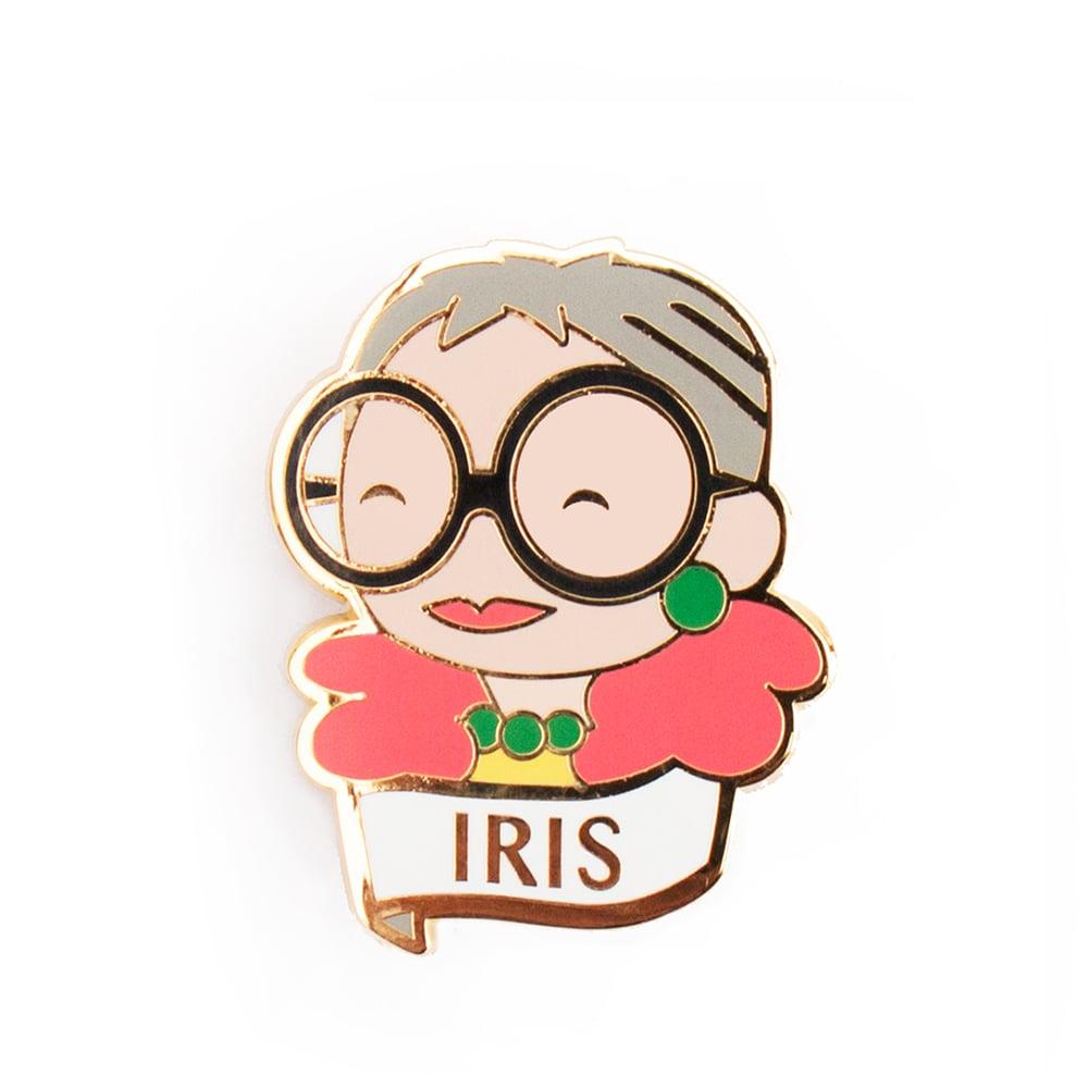 Image of IRIS BROOCH