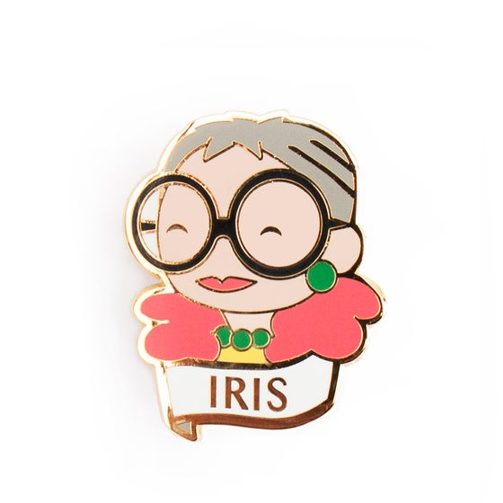 Image of IRIS BROOCH