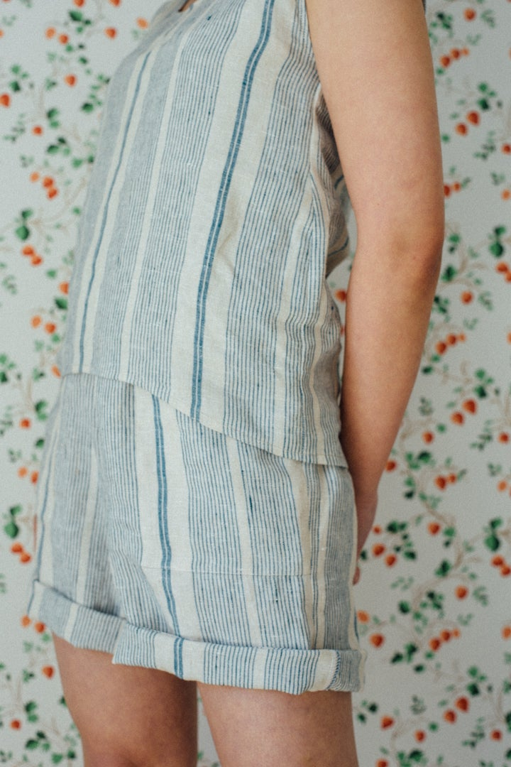 Image of BERTIE linen shorts