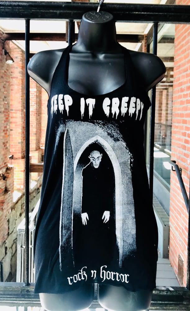 Image of Keep It Creepy Women's Tank