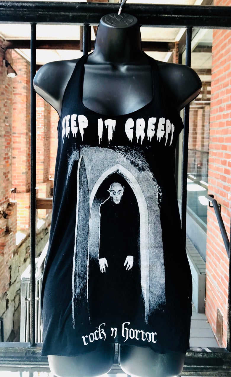 Image of Keep It Creepy Women's Tank