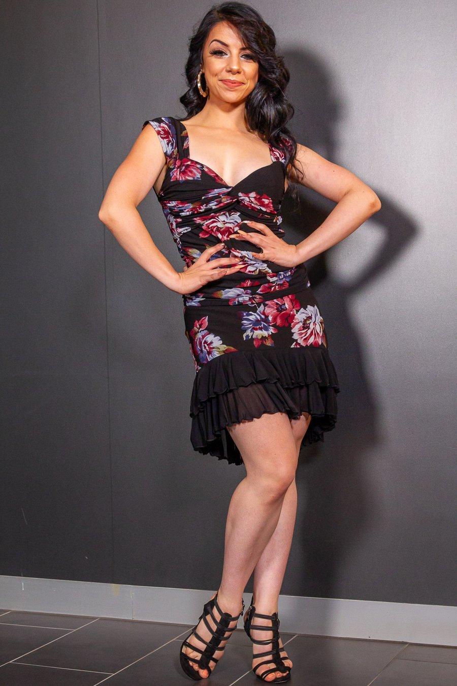 Image of Frill Skirt (J6665) Camellia Dancewear latin ballroom