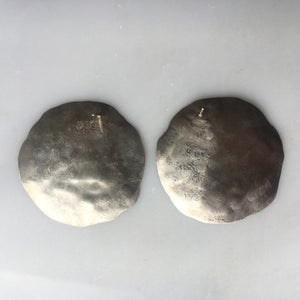 Image of XL sterling luna earring