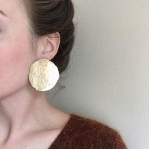 Image of XL luna earring