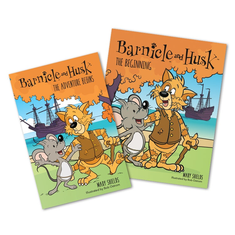 Image of Two Book Set (Barnicle and Husk: The Adventure Begins and Barnicle and Husk: The Beginning)