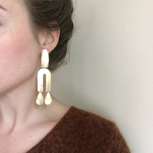 Image of XL well earring