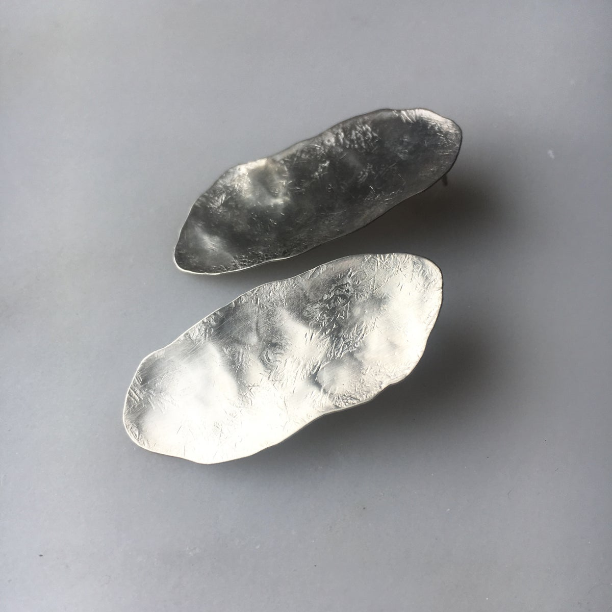 Image of slate earring