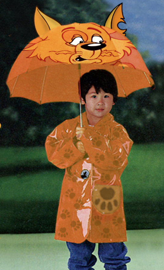 Image of Barnicle Rainjacket and Umbrella Set