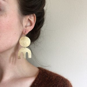 Image of rise earring