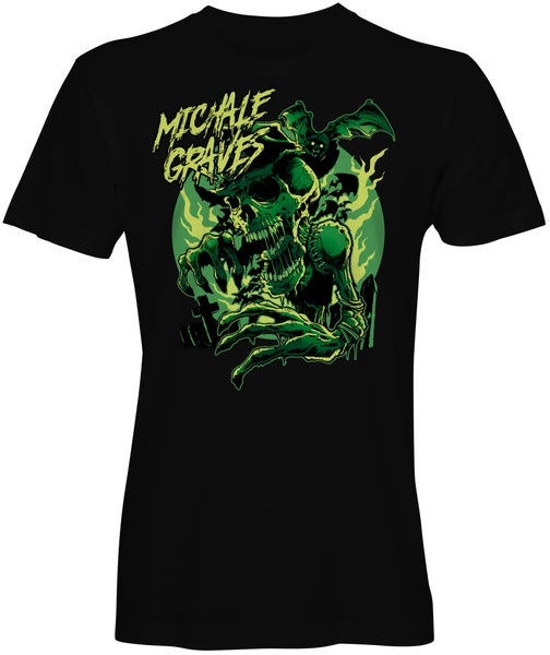 "Image of PRE-SALE Michale Graves ""Glowing Creature""  T-shirt (GLOW IN THE DARK)"