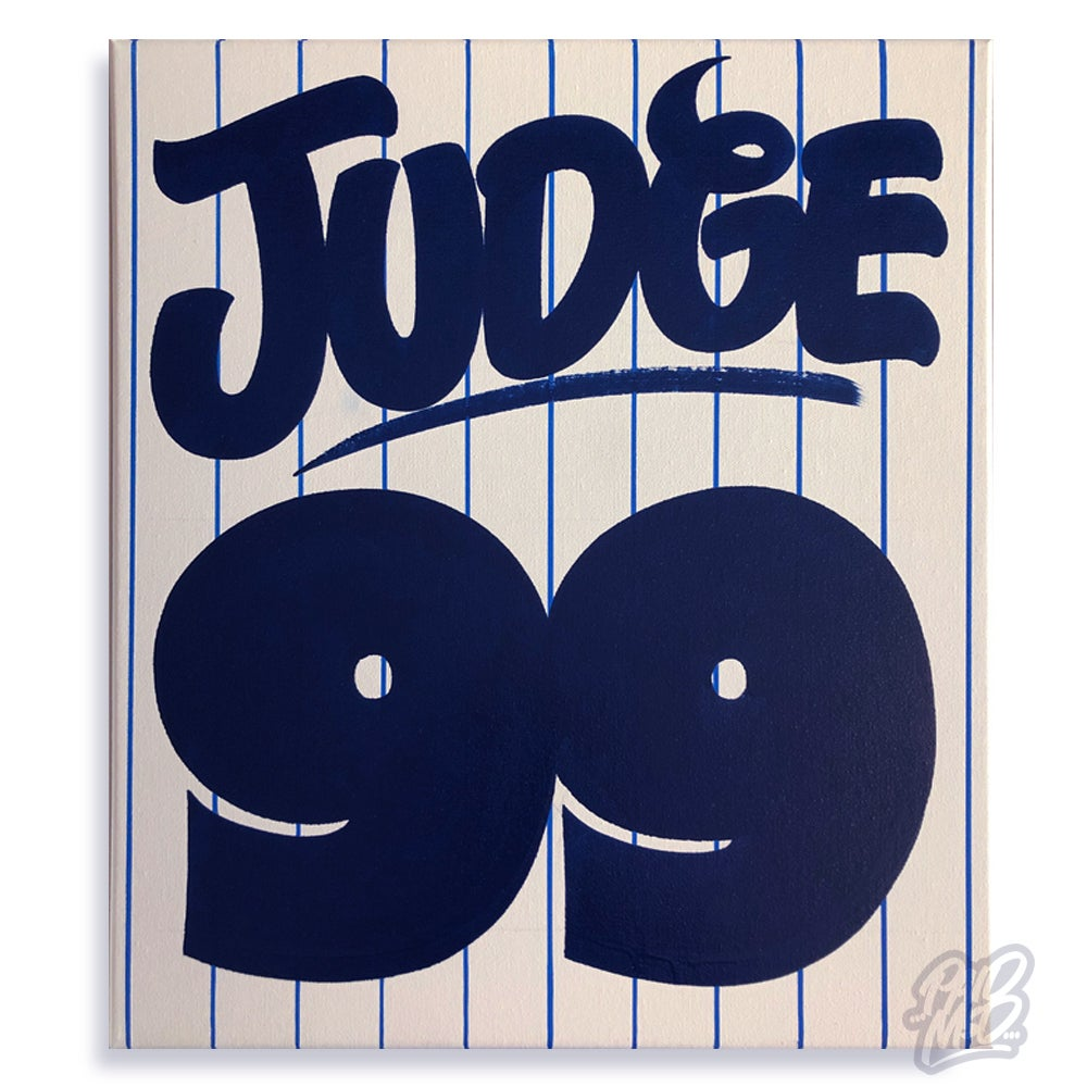 "Image of 16"" x 20"" - Judge 99"