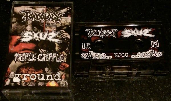 Image of Toxicology/Skuz/Triple Cripple/Ground 4 way split PRO TAPE