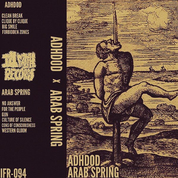 Image of ADHDOH/Arab Spring split tape
