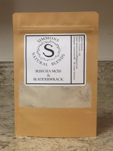 Irish Sea moss and Bladderwracks | Simmons's Natrural Blends
